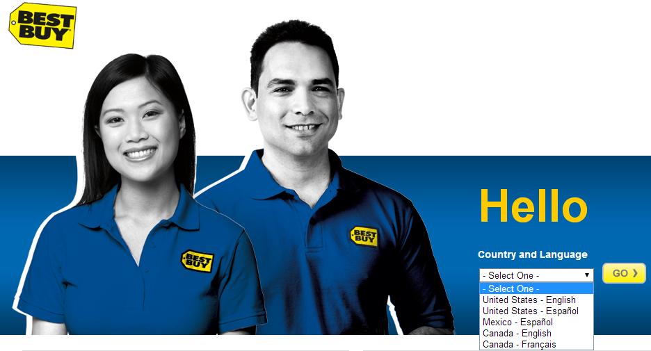 Startseite von bestbuy.com