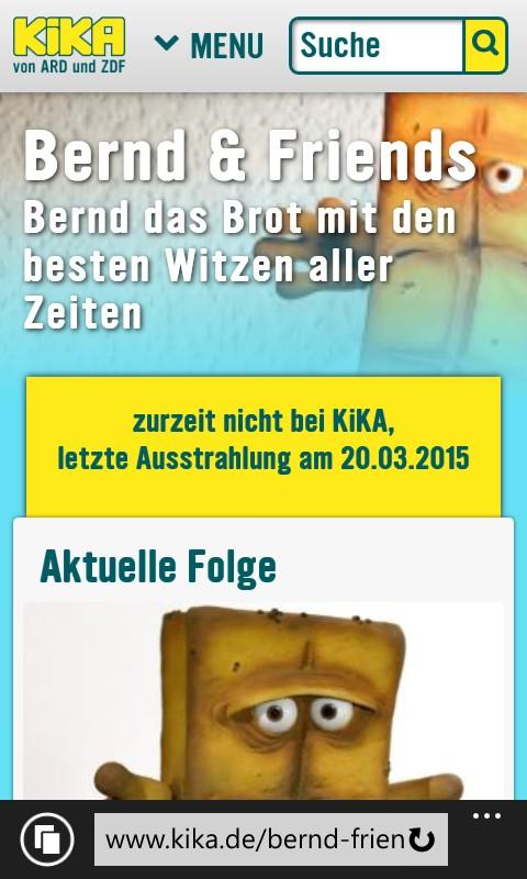 Website-Relaunch von kika.de im responsive Design