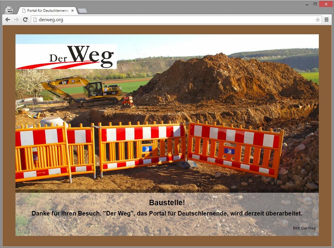 Website aufgrund von Relaunch nicht erreichbar