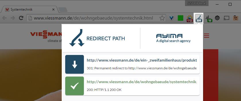 Redirect Path Check
