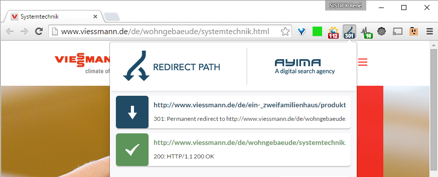 Redirect-Path Check