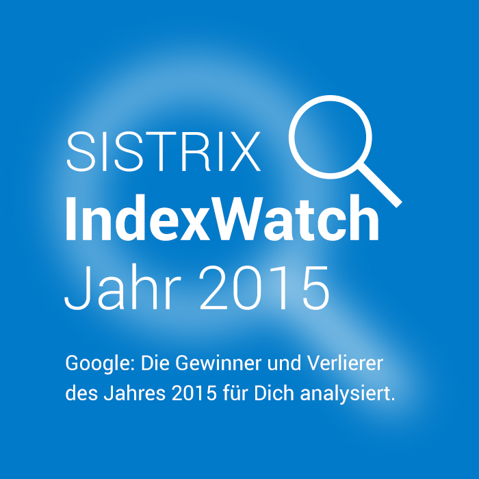 SISTRIX IndexWatch 2015