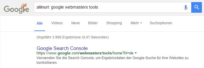 allinurl-google