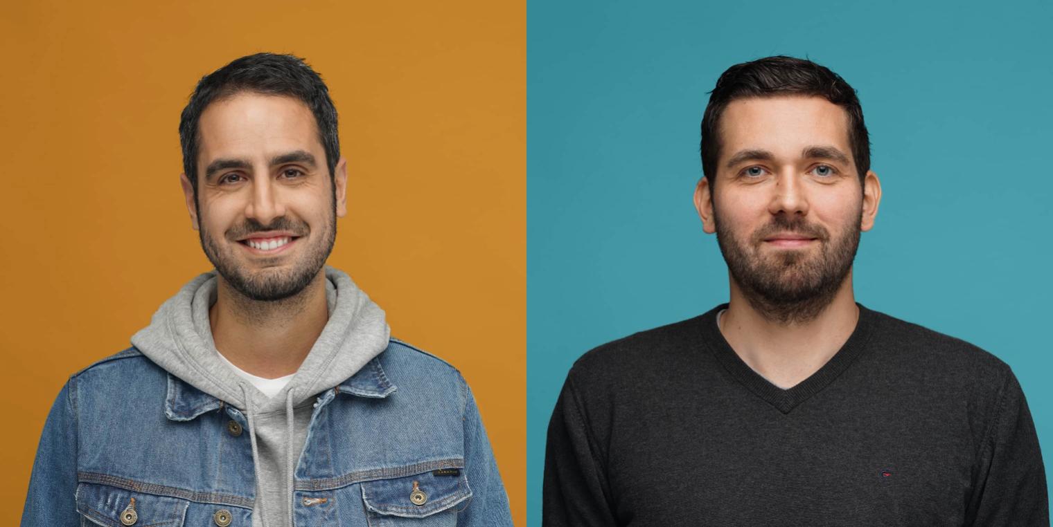 Gründer reishunger.de: Sohrab Mohammad und Torben Buttjer