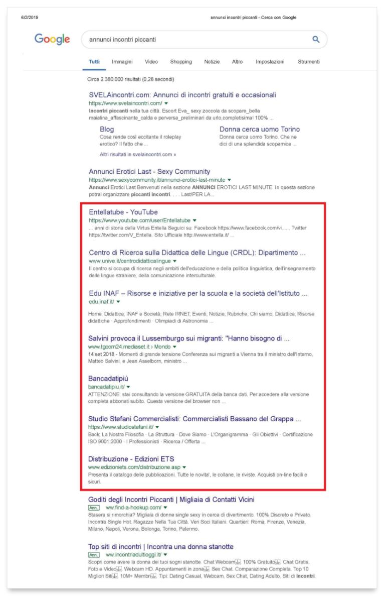 Russo sito di incontri Hacked