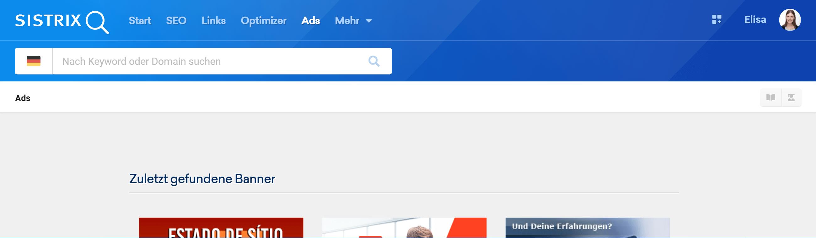 Das Ads-Modul in der SISTRIX Toolbox
