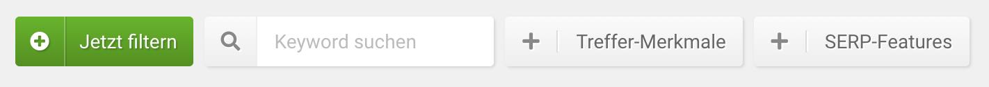 Filter für die Featured Snippets in der SISTRIX Toolbox