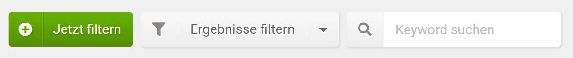 Ranking Veränderungen - Filter