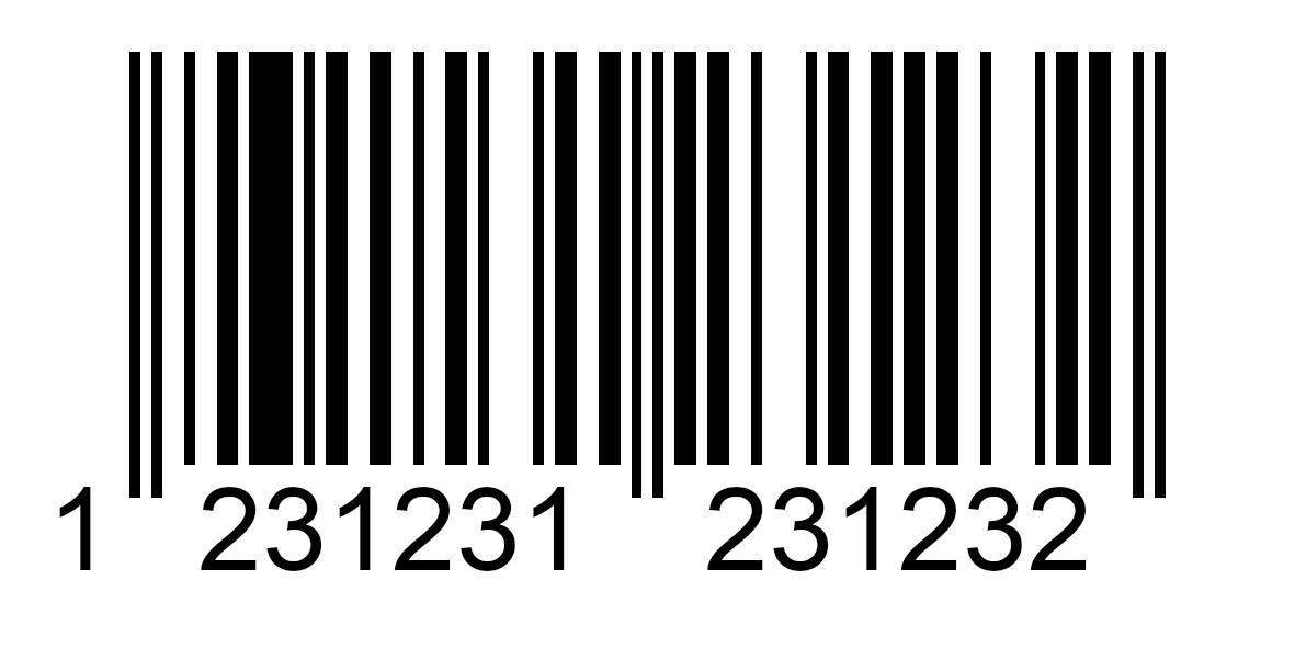 Beispiel-EAN-Code.